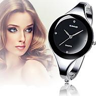 Damers Modeklocka Armbandsur Armbandsklocka Vardaglig klocka Quartz Diamant Imitation Legering Band Armring Eleganta SilverVit Svart Röd