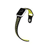 リンゴの時計42ミリメートル38ミリメートルのためのHOCOシリコーンスポーツ交換用ストラップ