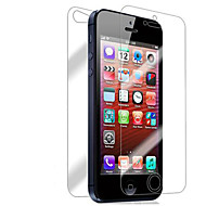 [7-Pack] Front og Back Retina Screen Protector for iPhone 5/5S