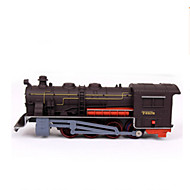 Track Rail Car Novelty Toy Train Novelty Brown Plastic