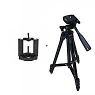 すべてd.camera v.camera mobilesamsung iphoneのHTC LGソニーノキア用ismartdigi i3120-BKモバイルスタンド4セクションのカメラ三脚...黒