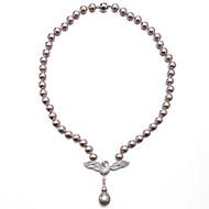 Női Rövid nyakláncok Gyöngy Cirkonium Kocka cirkónia Karika luxus ékszer Ékszerek Kompatibilitás Napi