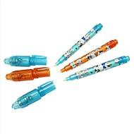 3PCS 눈에 보이지 않는 잉크 펜 마법의 펜 프로 모션 선물은 비밀 기록을 펜
