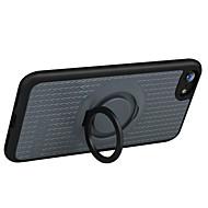 Til Ringholder Etui Bakdeksel Etui Linjer / bølger Hard Silikon til Apple iPhone 7 Plus iPhone 7