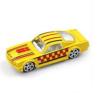 レーシングカー おもちゃ 車のおもちゃ 1:64 メタル プラスチック 白 プラモデル&組み立ておもちゃ
