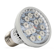 12W E14 GU10 E27 Lampy szklarniowe LED 12 High Power LED 290-330 lm Ciepła biel Czerwony Niebieski UV (podświetlenie) V 1 sztuka