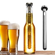 1Pcs Durable Stainless Steel Beer Red Wine Cooling Stick Beverage Stick Chiller