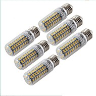 5W E27 LED-bollampen T 72 SMD 5730 300 lm Warm wit Decoratief AC 220-240 V 6 stuks