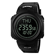 Men's Women's Sport Watch Wrist watch Digital Watch LED LCD Compass Calendar Water Resistant / Water Proof Alarm Stopwatch Digital Rubber