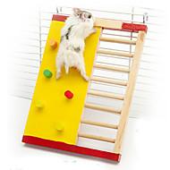 애완 동물 드워프 햄스터 친칠라 등반 사다리 장난감 나무 장난감 작은 동물 케이지 장난감 다람쥐