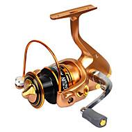 Carrete de la pesca Carretes para pesca spinning 2.6:1 11 Rodamientos de bolas Intercambiable Pesca en General-DF GOLD