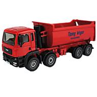 Véhicule de Construction Jouets Jouets de voiture 1h50 Métal ABS Plastique Rouge Maquette & Jeu de Construction