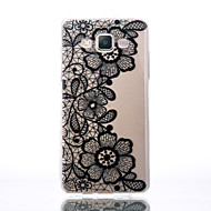 For Samsung Galaxy A510 A5 A310 A3 TPU Material Three Chrysanthemum Patterns Relief Phone Case
