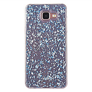 For Samsung Galaxy A5(2016) A3(2016) Case Cover Pattern Back Cover Glitter Shine Soft TPU