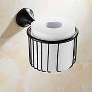 Toiletrulleholder / Olieret bronzeMessing /Antik