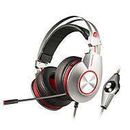 xiberia k5u profesionalni gaming naglavna slušalica super stereo bass USB LED stereo gaming slušalice za računala igrač