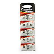 camelion ag4 pile alcaline pile bouton pièce 1.5v 10 pack
