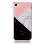 Voor IMD Patroon hoesje Achterkantje hoesje Marmer Zacht TPU voor AppleiPhone 7 Plus iPhone 7 iPhone 6s Plus/6 Plus iPhone 6s/6 iPhone