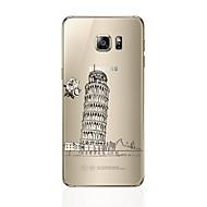 Για Διαφανής Με σχέδια tok Πίσω Κάλυμμα tok Θέα της πόλης Μαλακή TPU για Samsung S7 edge S7 S6 edge plus S6 edge S6 S5 S4