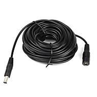 10m (15ft) 2.1x5.5mm DC 12V tápegység hosszabbító kábel