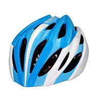 スポーツ 男女兼用 バイク ヘルメット 18 通気孔 サイクリング サイクリング マウンテンサイクリング ロードバイク レクリエーションサイクリング 登山 ハイキング PC EPS イエロー レッド ブラック ブルー