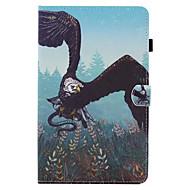 Na Etui na karty Z podpórką Flip Wzór Kılıf Futerał Kılıf Wzór zwierzęcy Twarde Skóra PU na SamsungTab E 9.6 Tab E 8.0 Tab A 9.7 Tab A