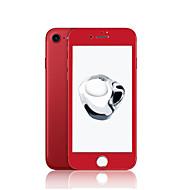 ZXD china bordo rosso morbido per iphone 7 schermo di protezione 3D in vetro temperato copertura completa senza copertura antiriflesso