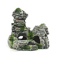 Aquário Decoração Ornamentos Pedras Artificial Resina