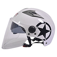 gxt M11 motocikl na pola kaciga dual-objektiv Harley krema kaciga ljeto unisex pogodan za 55-61cm duge prozirnom lećom
