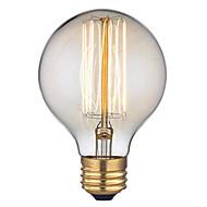 G95 ac 220-240V E27 60W ευθεία σύρμα 1pcs λάμπα ρετρό δημιουργική προσωπικότητα της τέχνης διακοσμητικά Edison