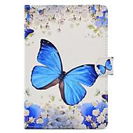 Für mit Halterung Muster Hülle Handyhülle für das ganze Handy Hülle Schmetterling Hart PU - Leder für Apple iPad Mini 4 iPad Mini 3/2/1