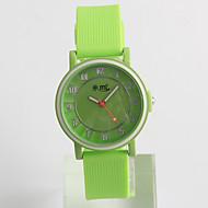 Modieus horloge Kwarts / Silicone Band Vrijetijdsschoenen Groen Groen