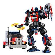 Leker som Gave Byggeklosser Modell- og byggeleke Kriger Robot Plast 5 til 7 år 8 til 13 år 14 år og oppover Svart Brun Leketøy