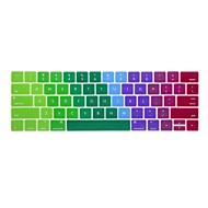 xskn®2016最新のMacBookのための英語カラフルなシリコーンキーボードの皮とtouchbarプロテクターは、タッチバーの網膜で13.3 / 15.4をプロ(アメリカレイアウト)
