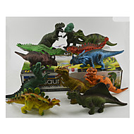 Action Figures & Stuffed Animals Display Model Model & Building Toy Toys Novelty Dinosaur Plastic Rainbow