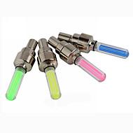 poświata światła rowerowe LED - Kolarstwo Łatwe przenoszenie przycisk baterii Lumenów Akumulator Niebieski Czerwony Zielony Żółty