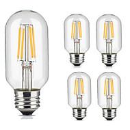 4W E27 LED filament žarulje 4 COB 360 lm Toplo bijelo Hladno bijelo Ukrasno AC 220-240 V 5 kom.