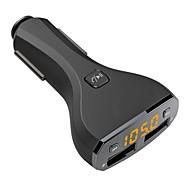 Opladerkit Auto USB-oplader Socket Anderen 2 USB-poorten Alleen oplader Automatisch 5V/2.4A