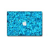 1 τμχ Προστασία από Γρατζουνιές Γεωμετρικό Πλαστικές διάφανες Αυτοκόλλητο Φωσφορίζει στο Σκοτάδι Μοτίβο ΓιαMacBook Pro 15'' with Retina