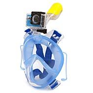 Snorkelpakker Snorkelmaske Heldekkende maske Dykking og snorkling Dykking PVC Plast Silikon-WINMAX