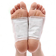 1 Box/10Pcs  Kinoki Detox Foot Pads Patches With Retail Box And Adhesive/Cleansing Detox Foot Pads