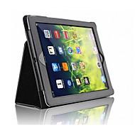 For Med stativ Magnetisk Etui Heldækkende Etui Helfarve Hårdt Kunstlæder for AppleiPad (2017) iPad Pro 9.7 '' iPad Air 2 iPad Air iPad