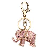 Kulcstartó Elefánt Kulcstartó Fém