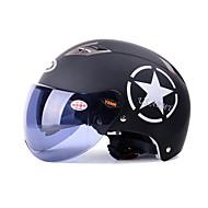 紅茶の短いレンズで54〜61センチメートルためYEMA 329ヘルメット夏のABSアンチUVハーフヘルメット