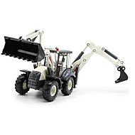 Construction Vehicle Toys Car Toys 1:50 Metal Plastic White Model & Building Toy