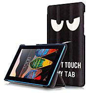 Print tilfelle deksel for lenovo tab3 tab 3 7 730 730m tb3-730m tablett med beskyttende film