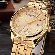 CHENXI® Męskie Do sukni/garnituru Modny Zegarek na nadgarstek Sztuczny Diamant Zegarek Japoński Kwarcowy Kalendarz sztuczna Diament Stop
