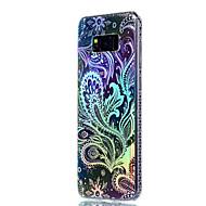 Samsung Galaxy S8 ja s8 suojus pinnoitus läpikuultava kuvio takakansi maisema pehmeä TPU s7 reuna s7