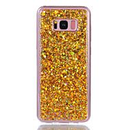 Do samsung galaxy s8 plus s8 pokrowiec pokrowiec wstrząśnięty tylna okładka case glitter shine soft akryl samsung galaxy s7 krawędź s7 s6
