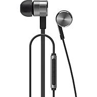 huawei携帯イヤホンコンピュータの耳に有線金属3.5ミリメートルマイク音量調節ノイズキャンセル